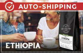 Ethiopia Coffee Beans Monthly Subscription