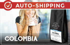 Colombia Coffee Beans Monthly Subscription