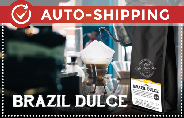 Brazil Coffee Beans Monthly Subscription