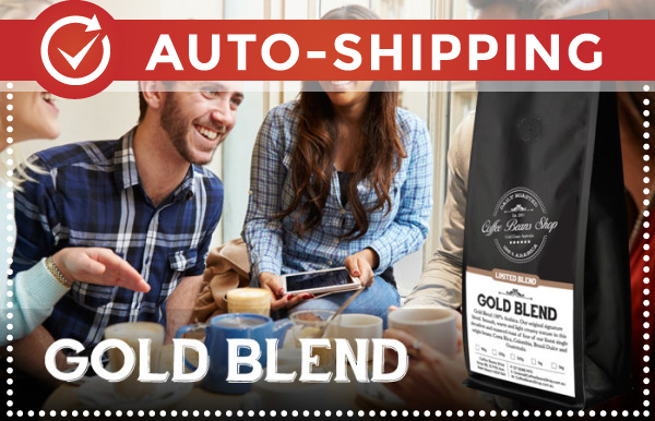 Gold Blend Coffee Beans Monthly Subscription