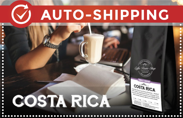 Costa Rica Coffee Beans Monthly Subscription