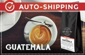 Guatemala Coffee Beans Monthly Subscription