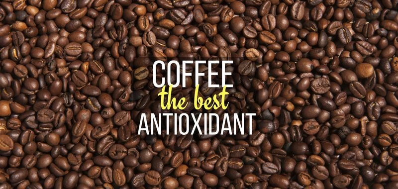 coffee is the best antioxidant with coffee beans