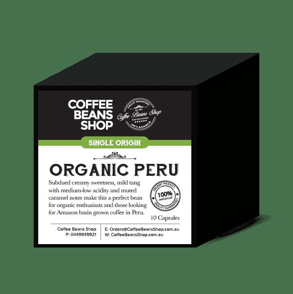 Organic Peru Coffee Pods - Biodegradable & Compostable